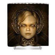 Steampunk Machine Shower Curtain