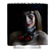 Steampunk Melissa Shower Curtain