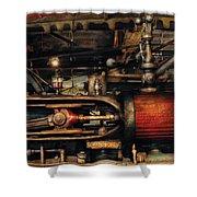 Steampunk - No 8431 Shower Curtain