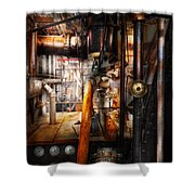 Steampunk - Plumbing - Pipes Shower Curtain