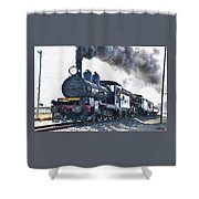Steamtrain To Carltoncreekhurst L B Shower Curtain