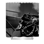Stearman Pt-18 Kadet - 1940 Shower Curtain