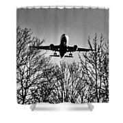 Steel Bird Shower Curtain