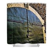 Steel Doors Shower Curtain