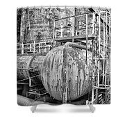 Steel Industry - Bethlehem Steel Shower Curtain