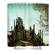 Steel Mill Shower Curtain