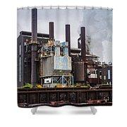 Steel Mill Shower Curtain