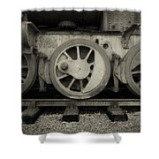 Steel Wheels  Shower Curtain