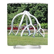 Steelroots Sculpture Shower Curtain