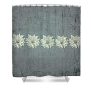 Steely Gray Bluer Version Shower Curtain
