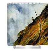 Steep Slope Shower Curtain