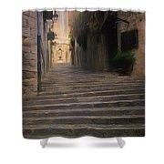 Steep Steps Of Girona Shower Curtain