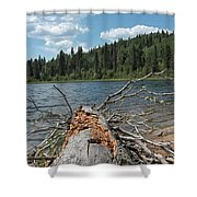 Steepbanks Lake The Fallen Shower Curtain
