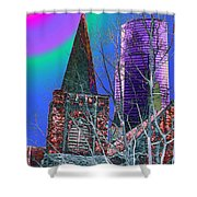 Steeple And Columbia Shower Curtain