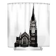 Steeple Chase 1 Shower Curtain