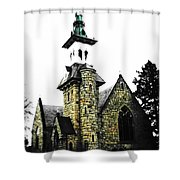 Steeple Chase 2 Shower Curtain