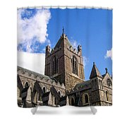Steeple In The Clouds Shower Curtain