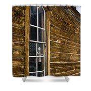 Steeple Window Wall Shower Curtain
