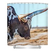 Steer Clear Shower Curtain