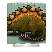 Stegosaurus Shower Curtain