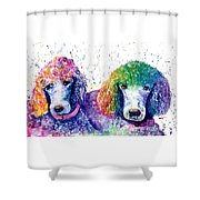Stella And Violet Shower Curtain