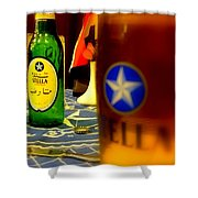 Stella Beer Shower Curtain