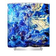 Stellar Blue Tides Shower Curtain