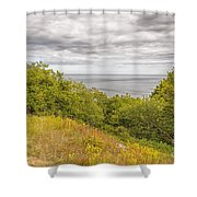 Stenshuvud Sea View Shower Curtain