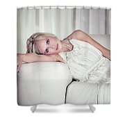 Step Into My Life Shower Curtain