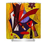 Step Lively Now Shower Curtain