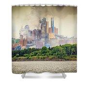 Stephen King Fog Plant Shower Curtain