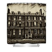 Stephenson's Hotel - Harpers Ferry Shower Curtain