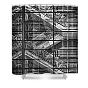 Stepping Panes Shower Curtain
