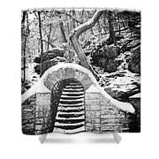 Steps Along The Wissahickon Shower Curtain