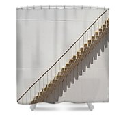 Steps And Shadows  Shower Curtain