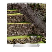 Steps And Terraces Shower Curtain