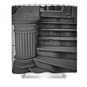 Steps Of Mount Vernon Shower Curtain
