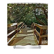 Steps To Adventure Shower Curtain
