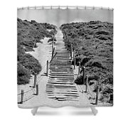 Steps To The Beach Shower Curtain
