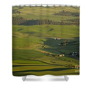Steptoe Butte 3a Shower Curtain