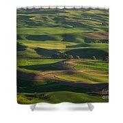 Steptoe Butte 4 Shower Curtain
