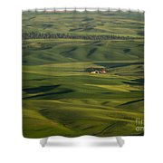 Steptoe Butte 5 Shower Curtain