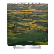 Steptoe Butte 9 Shower Curtain