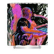 Sterlin At Blue Nite Shower Curtain