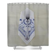 Sterling Silver Shower Curtain