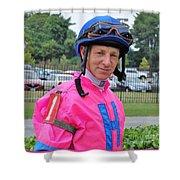 Steve Hamilton - Laurel Park 4 Shower Curtain