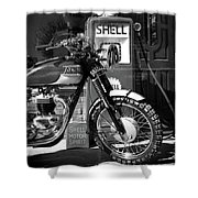 Steve Mcqueen Isdt 64 Shower Curtain