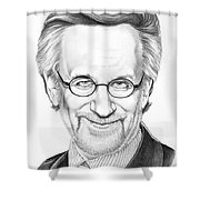 Steven Spielberg Shower Curtain