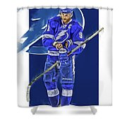 Steven Stamkos Tampa Bay Lightning Oil Art Series 2 Shower Curtain