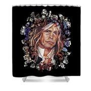 Steven Tyler Aerosmith Shower Curtain